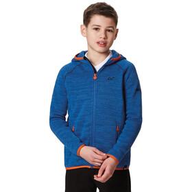 Regatta Dissolver Fleece Jas Kinderen, oxford (blaze orange)